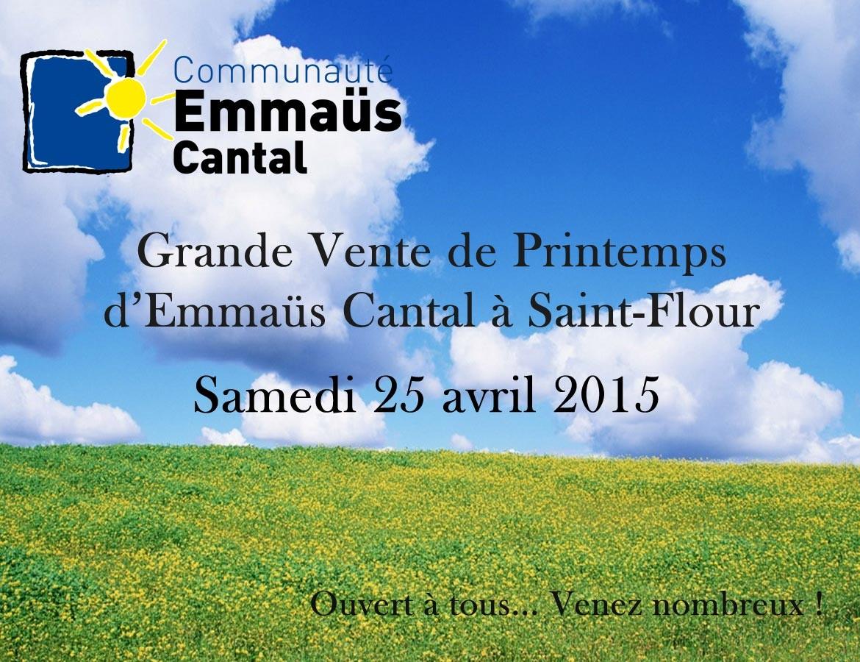 Vente-printemps St-Flour 2015