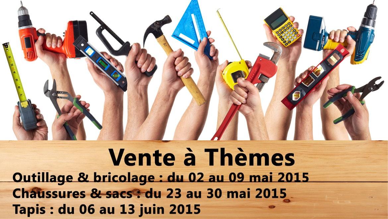 Ventes à Thèmes Printemps 2015