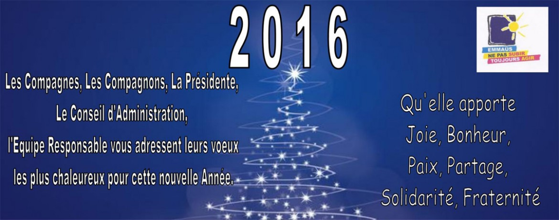 Voeux 2016 Emmaüs Cantal