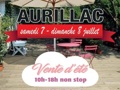 Grande vente d'été à Emmaüs Cantal Aurillac – 7 et 8 juillet 2018