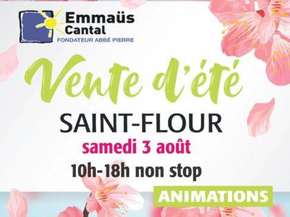Grande vente d'été à Saint-Flour