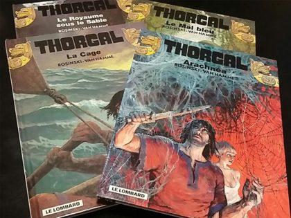 BD Thorgal titres sur demande