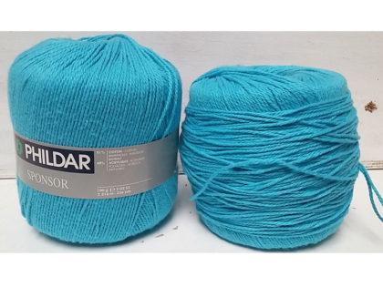 Lot 2 pelotes de fil a tricoter