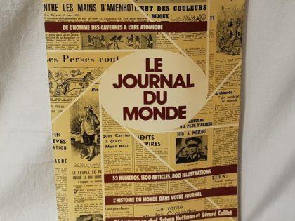 Le journal du monde-de l'homme des cavernes à l'ère atomique-l 'histoire du monde, numéro 53 et 1500 Articles