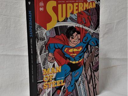 Superman   – man of steel  en bon état tom 1