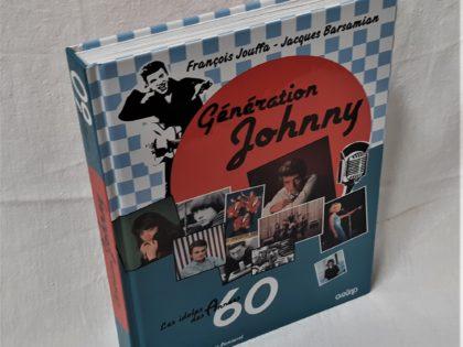 Livre Génération Johnny en très bon état