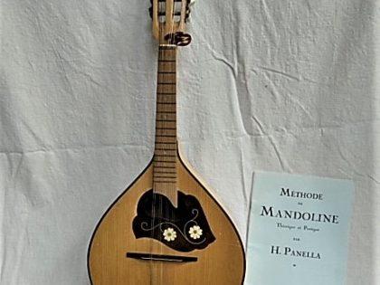 Mandoline et livre de méthode de Mandoline