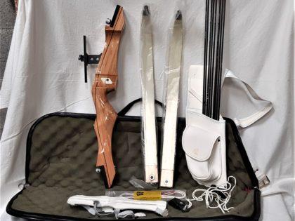 Kit complet de tir à l'arc en bois